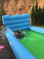 Deslizadera gigante de agua