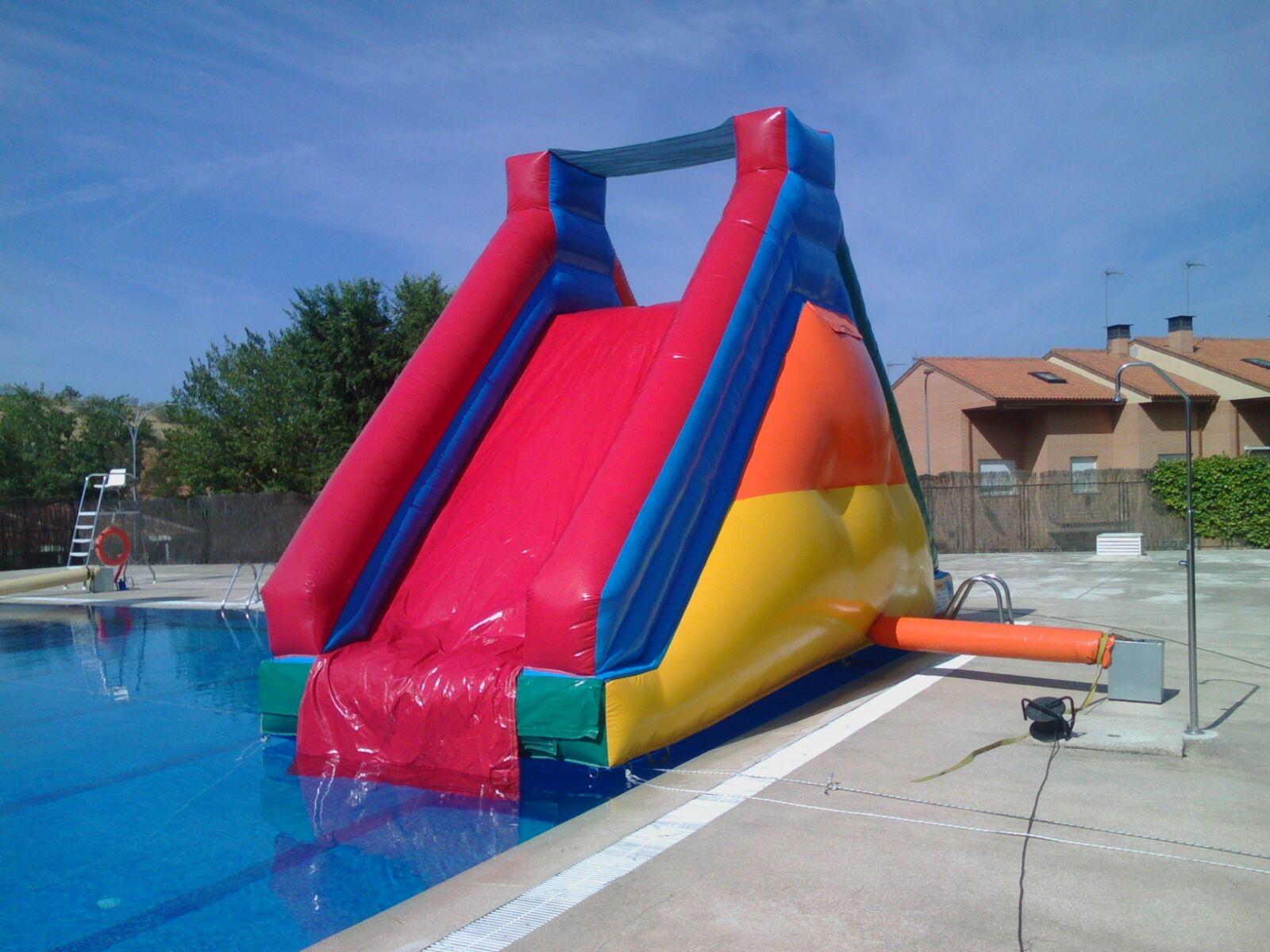 Tobogan piscina tus hinchables alquiler de hinchables en madrid - Tobogan hinchable para piscina ...