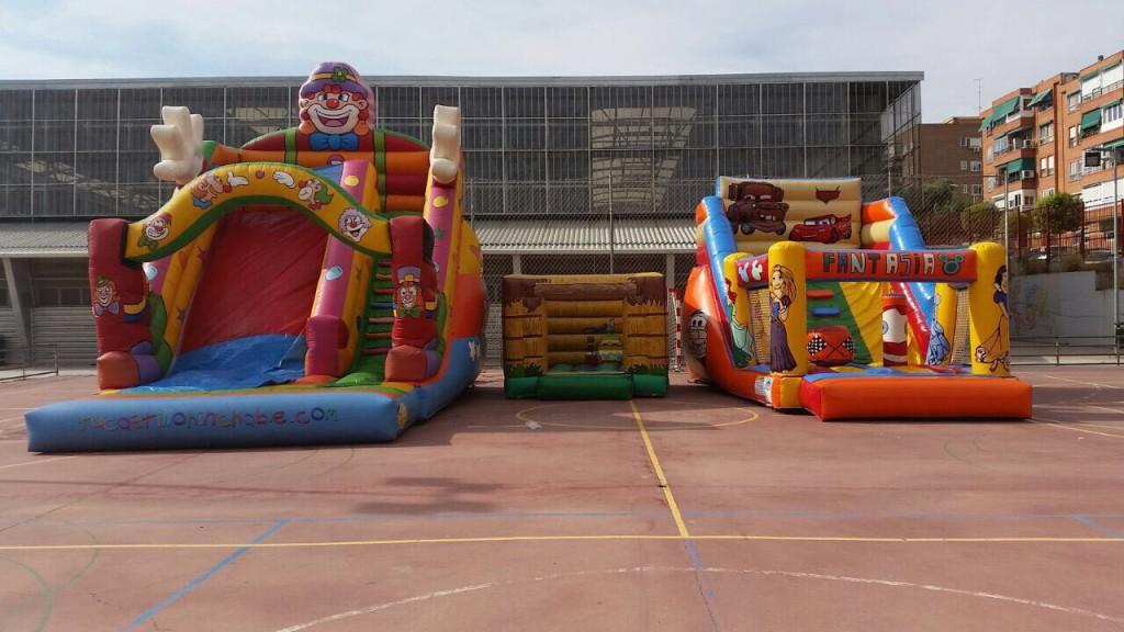 reserva online de Castillos Hinchables en Madrid
