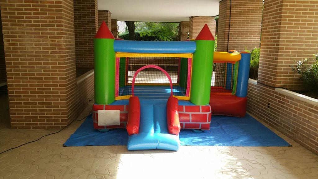 Castillo Hinchable Interior